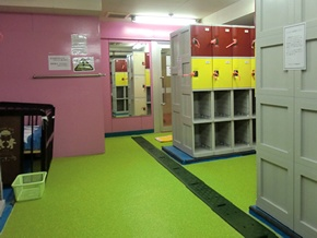 子供更衣室